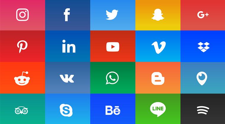 social media icons pic