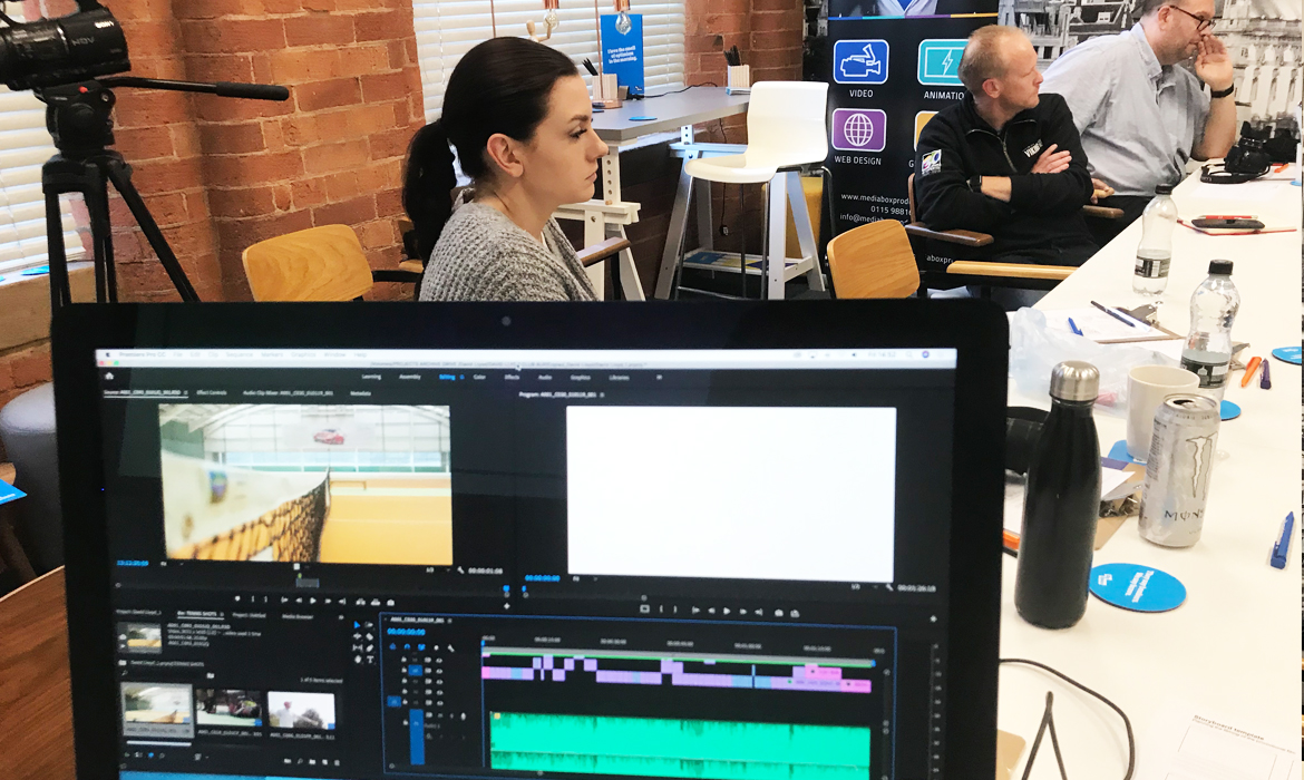 PREMIERE PRO EDITING AND VIDEO COURSE GROUP