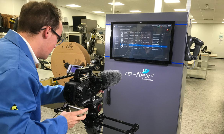 MEDIABOX-PRODUCTIONS-VIDEO-COMPANY-NOTTINGHAM-FILM-SHOOT-OF-REFLEX-II-PIC1