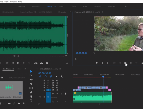 Premiere Pro Online Video Editing Course for Age UK