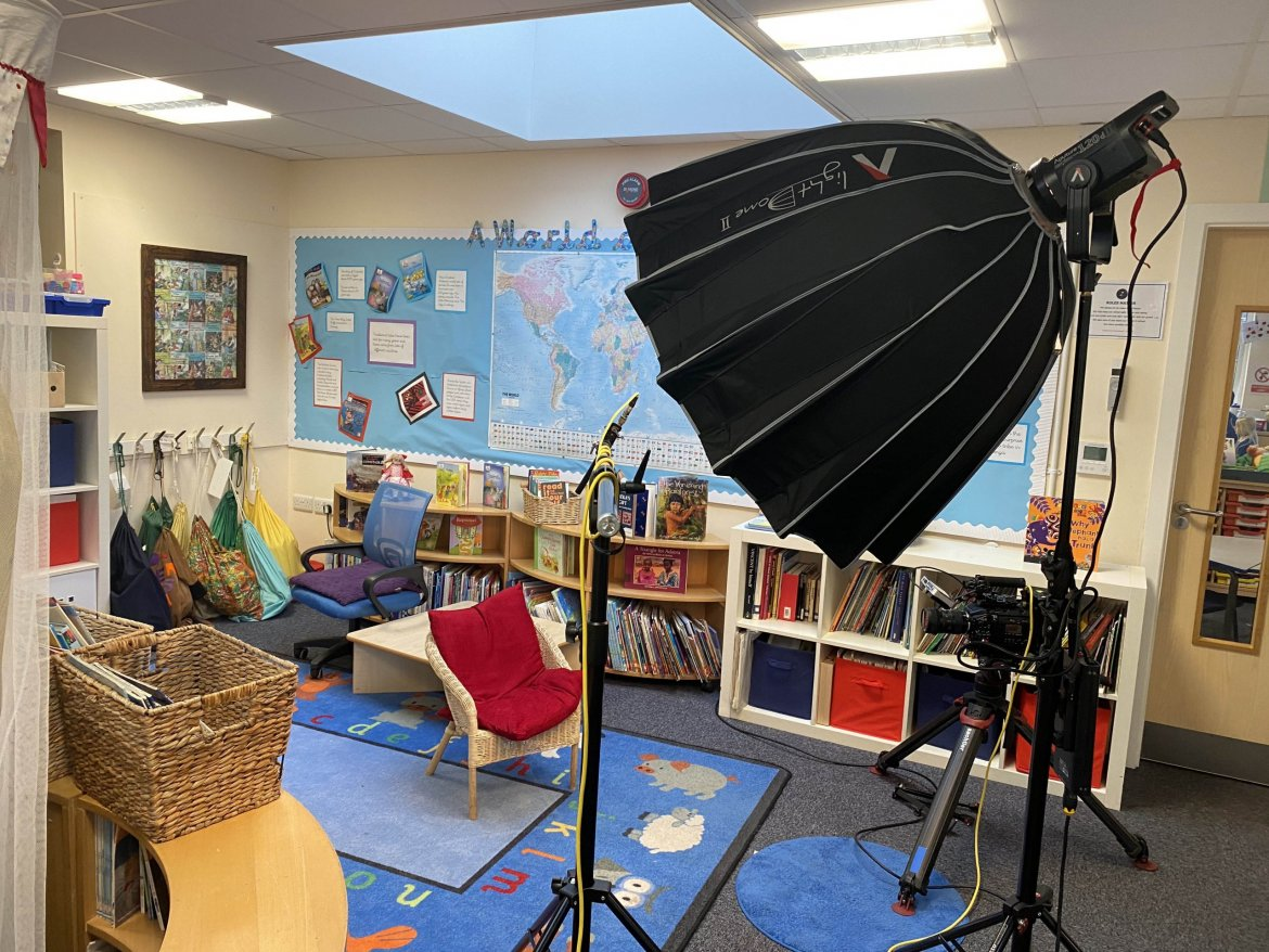 Telford Infant School pic by Mediabox Productions
